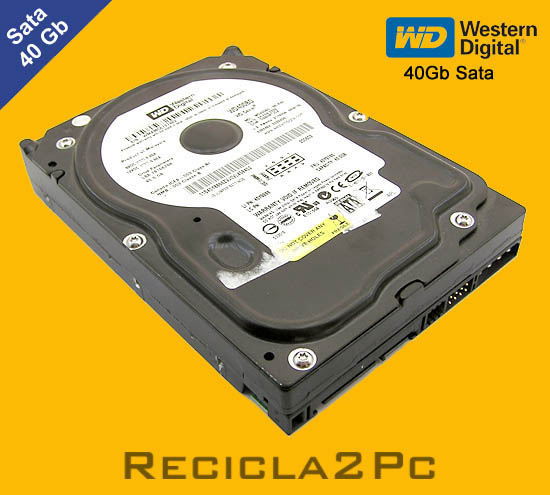 40Gb DISCO DURO SATA WESTERN DIGITAL NEGRO