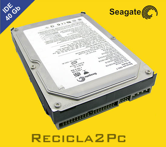 40Gb DISCO DURO IDE SEAGATE BARRACUDA YELLOW