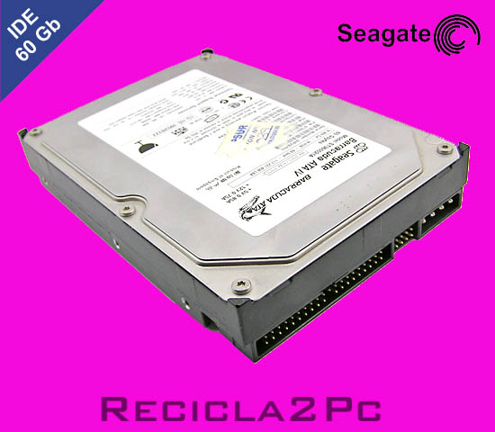 60Gb DISCO DURO IDE SEAGATE BARRACUDA PINK