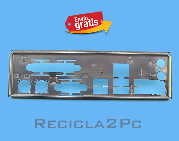 CHAPA TRASERA PLACA BASE MOTHERBOARD 04