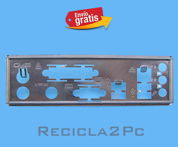 CHAPA TRASERA PLACA BASE MOTHERBOARD 12
