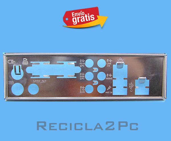 CHAPA TRASERA PLACA BASE MOTHERBOARD 14