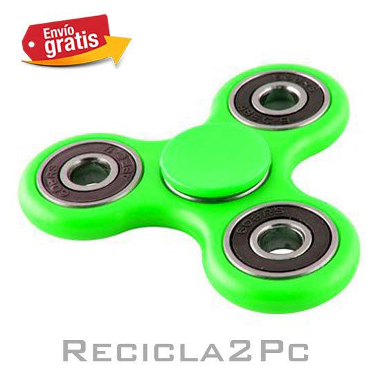 FIDGET SPINNER COLOR VERDE
