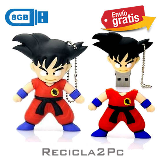 USB MEMORIA FLASH PENDRIVE DRAGON BALL 8GB