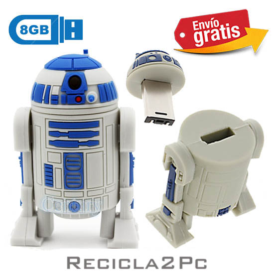 USB MEMORIA FLASH PENDRIVE ROBOT 3PO STARS WARS 8GB