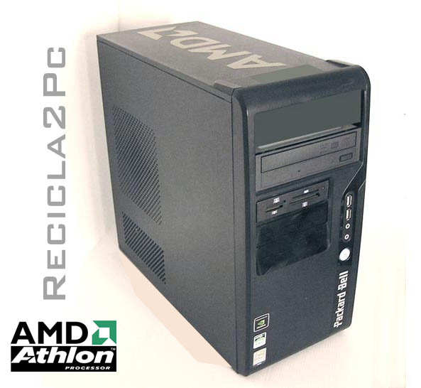 ORDENADOR PC PACKARD BELL AMD 1,80Ghz