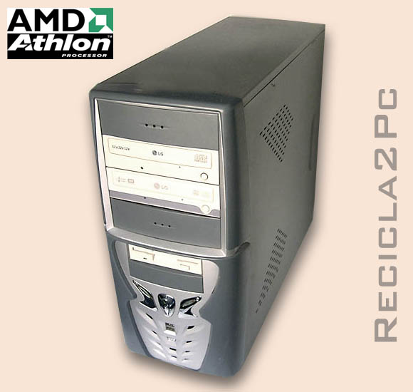 ORDENADOR PC CLONICO AMD 1,99Ghz