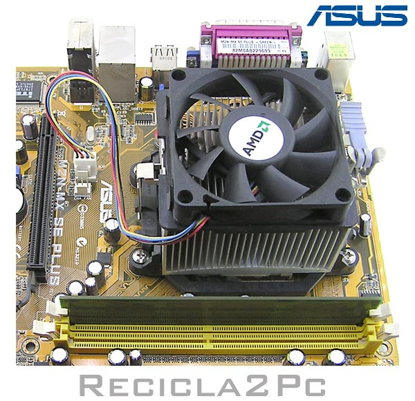 PLACA BASE ASUS M2N-MS-SE-PLUS CON MICRO Y MEMORIA