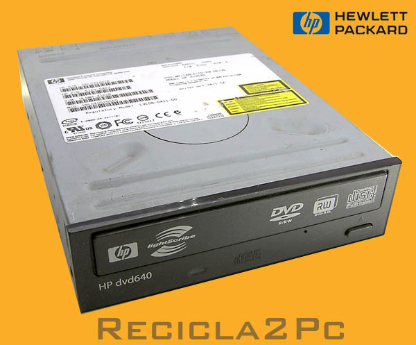REGRABADORA DVD CD HEWLET PACKARD HP DVD640