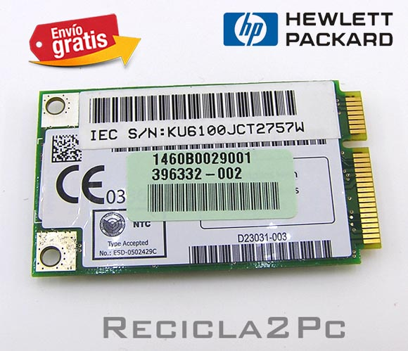 PLACA MODULO WIFI INTERNO PORTATIL HP NC6320